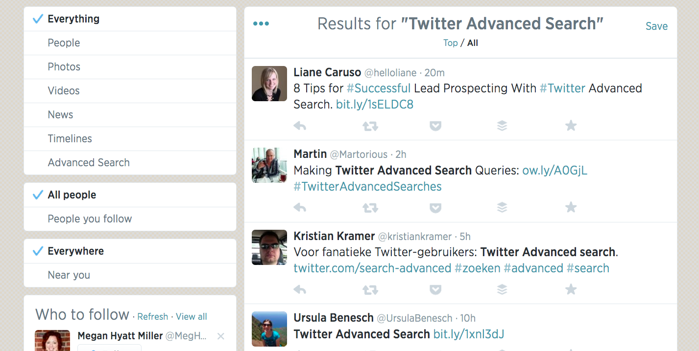 25 Effective Ways to Use Twitter Search for Marketing, Sales and Support