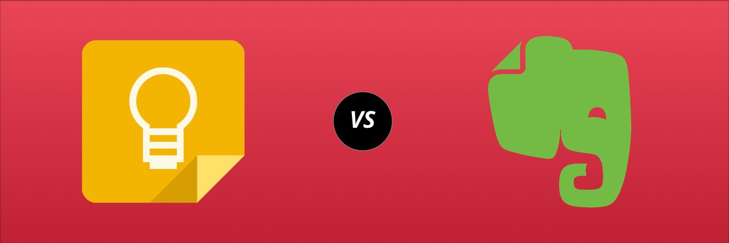 Note Taking Apps Showdown: Google Keep vs  Evernote