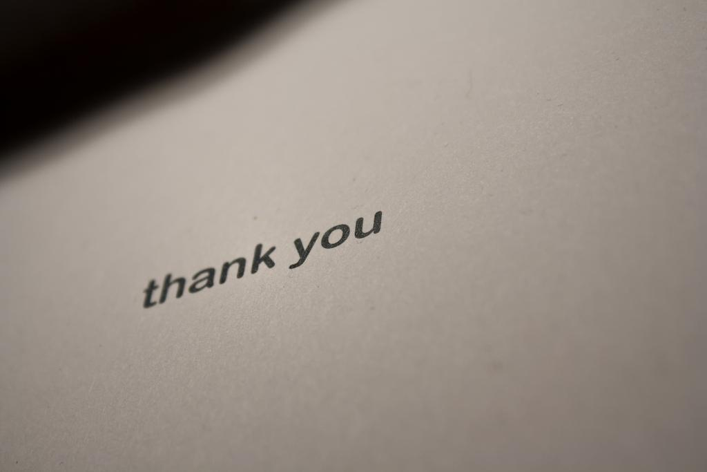 Five Simple Ways To Say Quot Thanks Quot To A Journalist