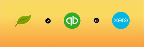 FreshBooks vs  QuickBooks vs  Xero