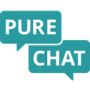 Pure Chat integration logo