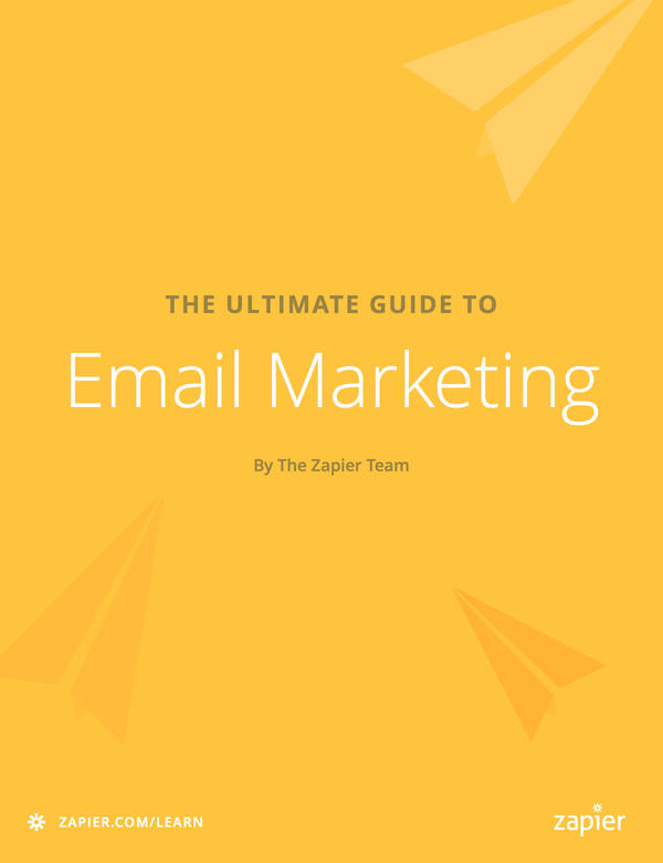 Grow your email list how to get subscribers organize lists and grow your email list how to get subscribers organize lists and follow spam laws the ultimate guide to email marketing apps zapier fandeluxe Gallery