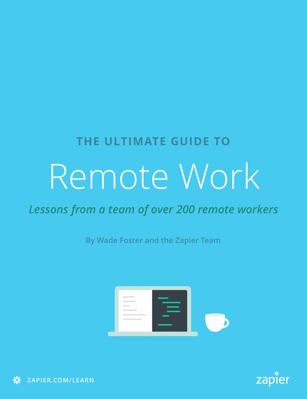 How to Run a Remote Team