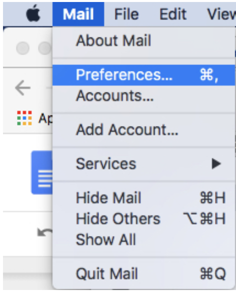 Mail for Mac rules