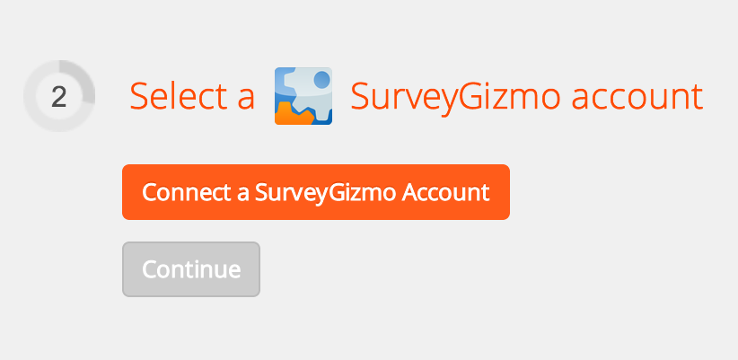 Connect SurveyGizmo to Zapier