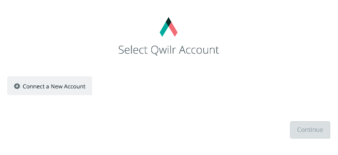 Click to connect Qwilr