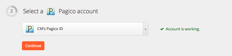 Test your Pagico ID account