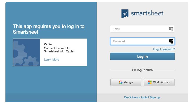Smartsheet - Integration Help & Support | Zapier