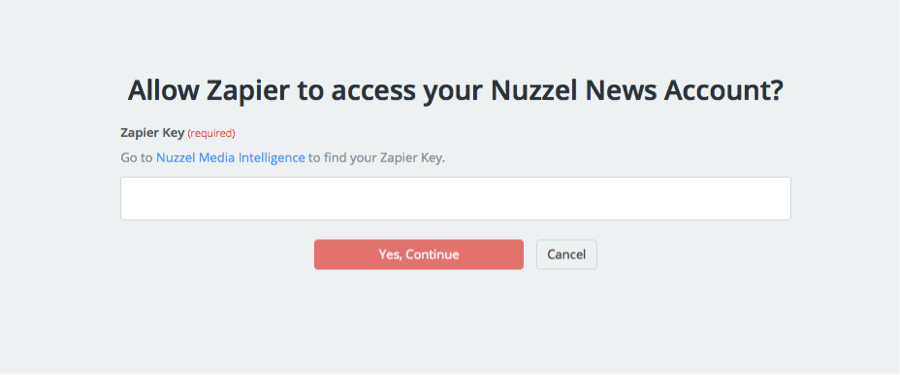 Nuzzel News API Key