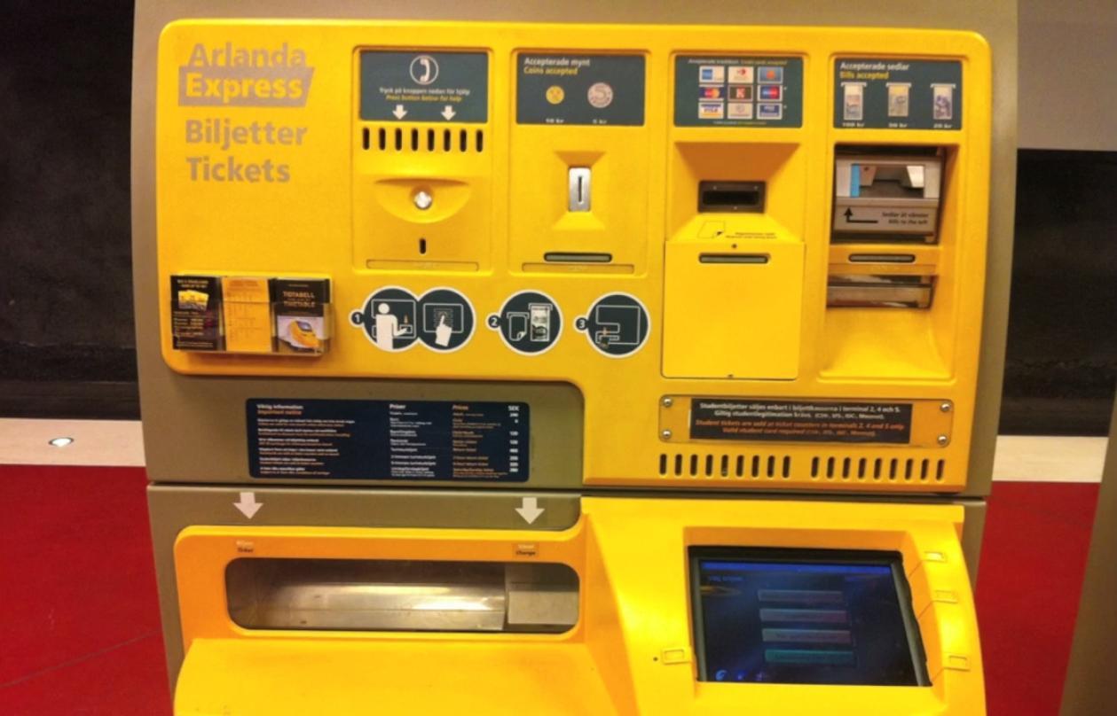 Stockholm machine