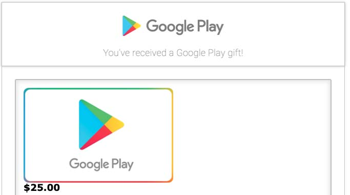 Tango Card GooglePlay Gift Card