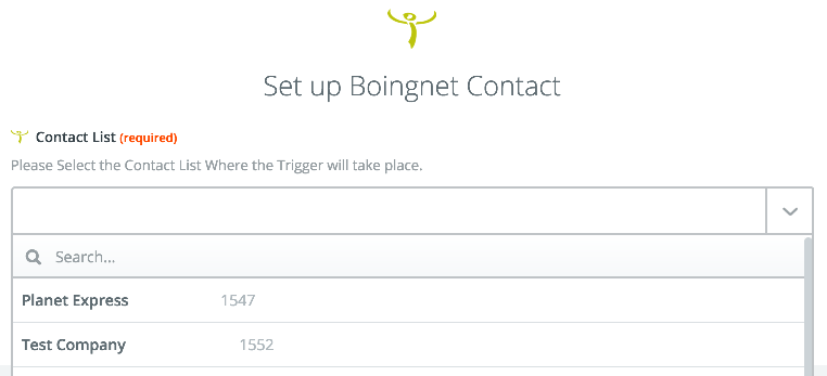 Boingnet Contact Filters