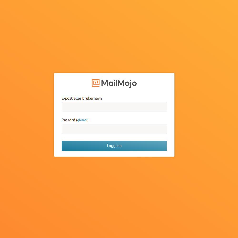 Login to MailMojo