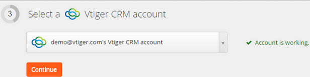 Vtiger CRM - Integration Help & Support | Zapier