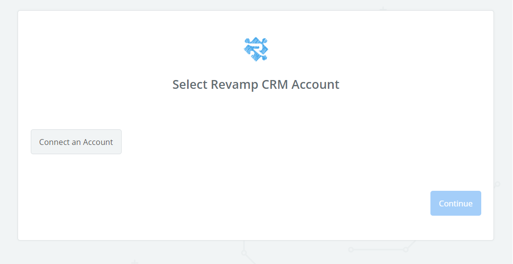 Click to connect  Revamp CRM