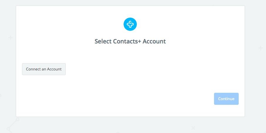 Click to connect Contacts+