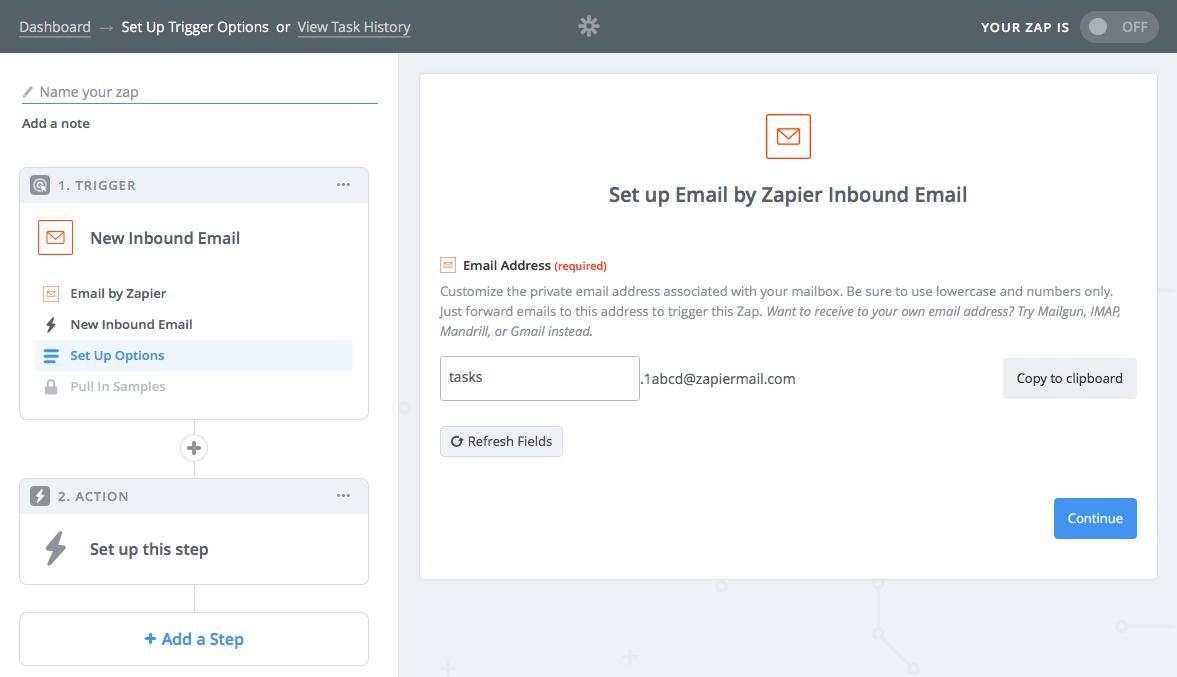 Zapier Email