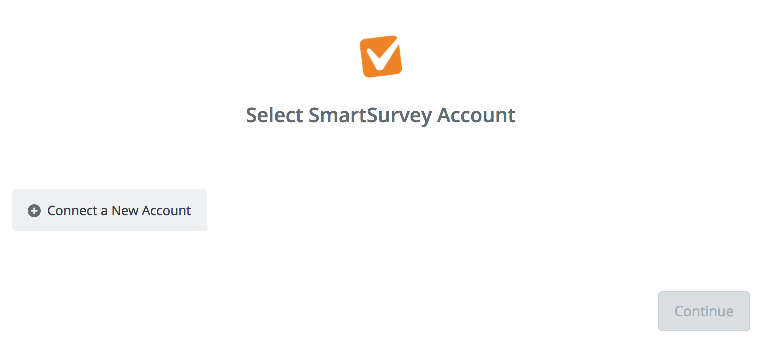 Click to connect SmartSurvey