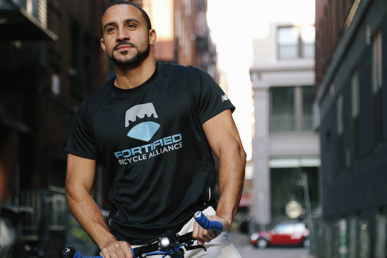 Tivan Amour, founder of Fortified Bicycles and SaveMySales