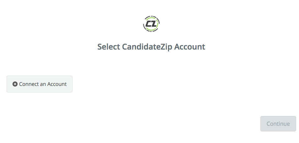 Click to connect CandidateZip