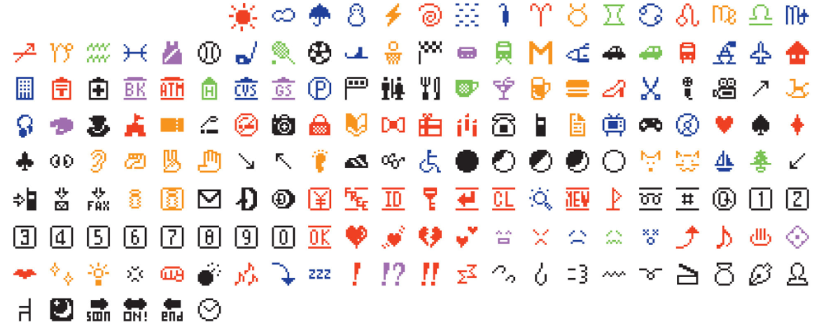 The first emoji set