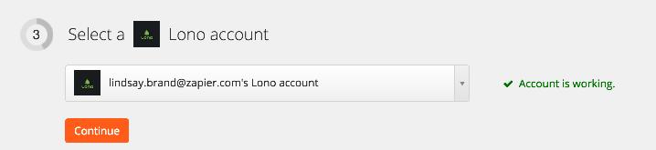 Lono connection successful