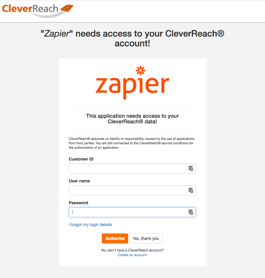 CleverReach® connection successfull