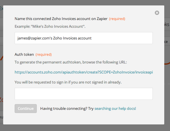 Zoho Invoices - Integration Help & Support | Zapier