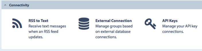 Textlocal API Keys