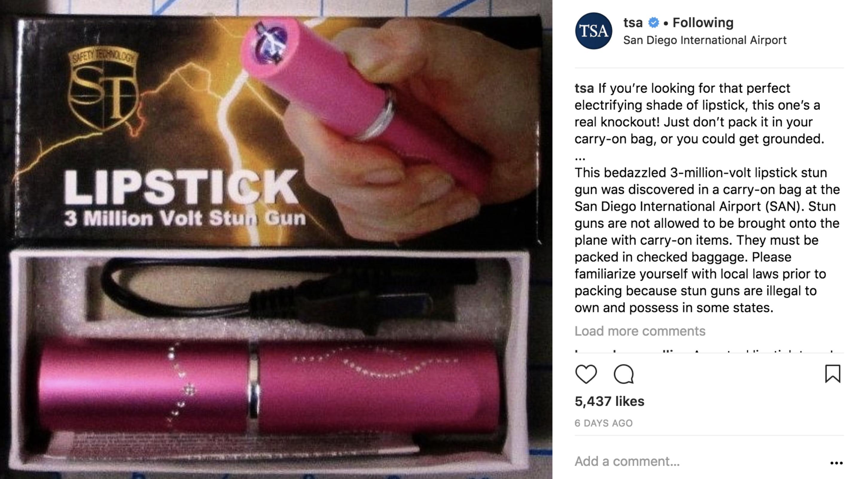 Instagram post by TSA
