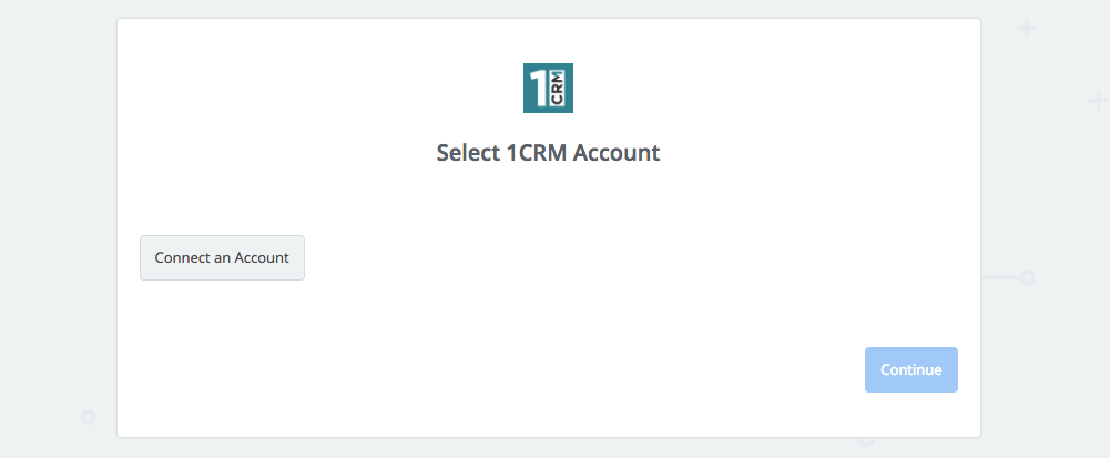 Click to connect 1CRM
