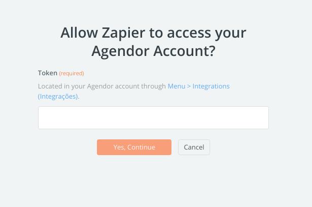 Agendor API Key