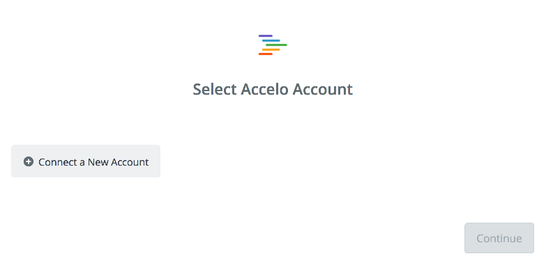Click to connect Accelo