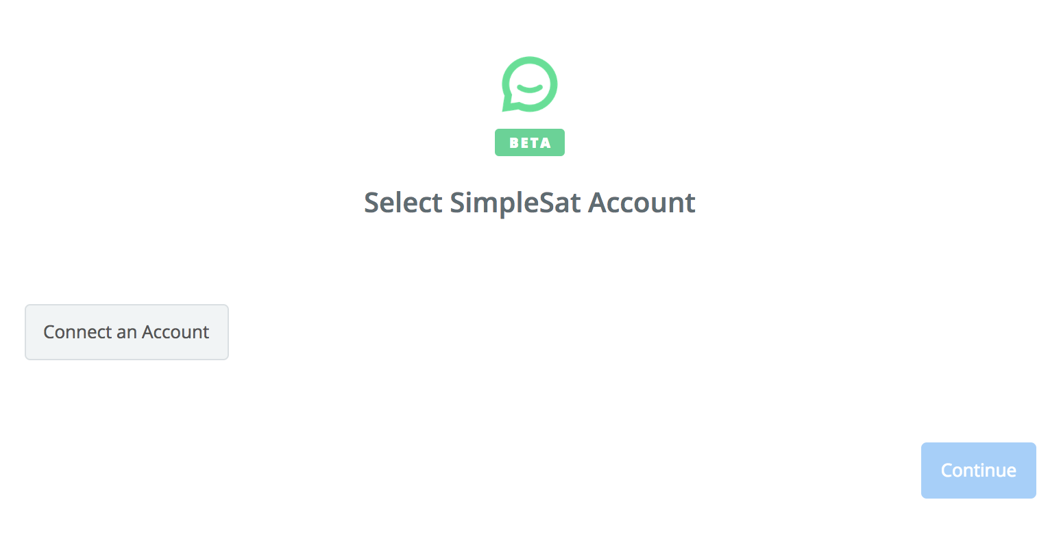Click to connect SimpleSat