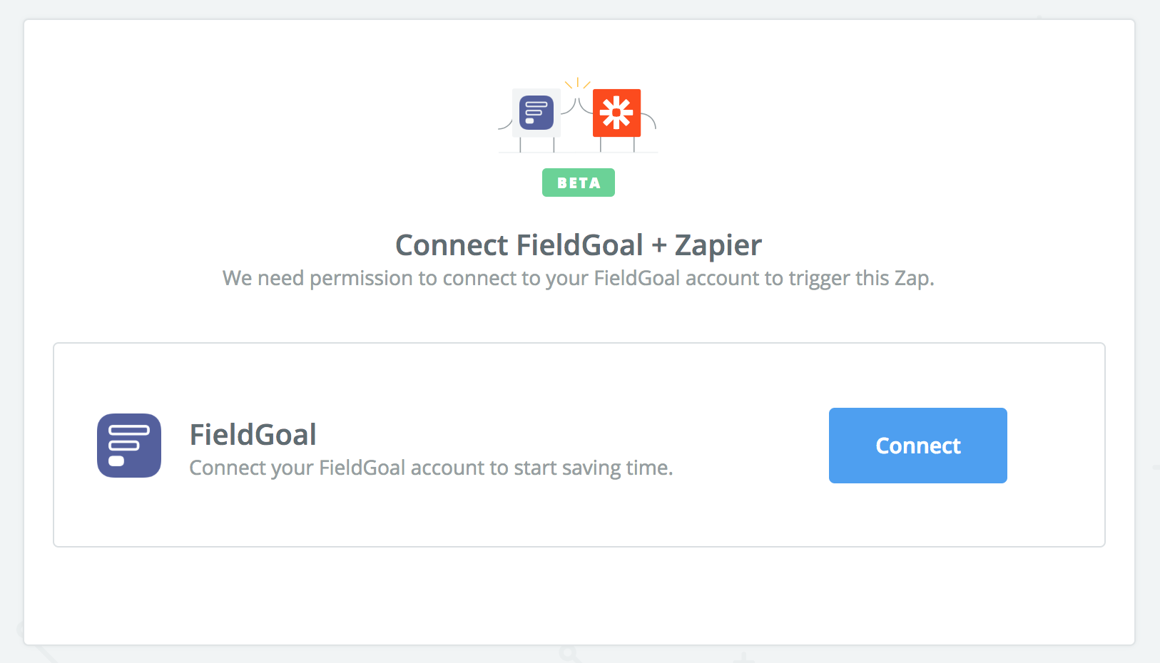 Click to connect FieldGoal