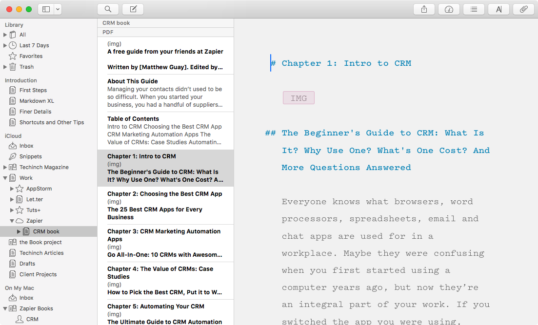 Ulysses for Mac