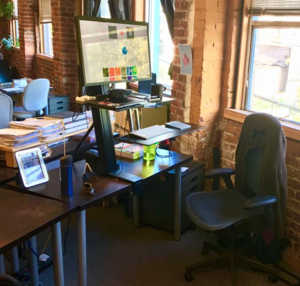 Bill Merrill's workspace