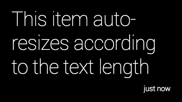Colorful text screenshot