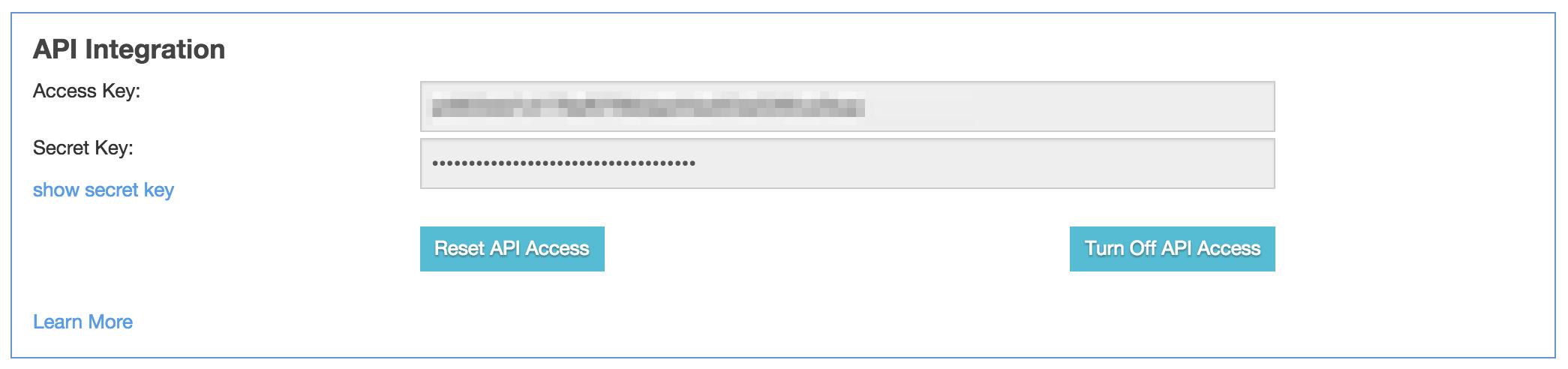 CallTrackingMetrics Account API Info