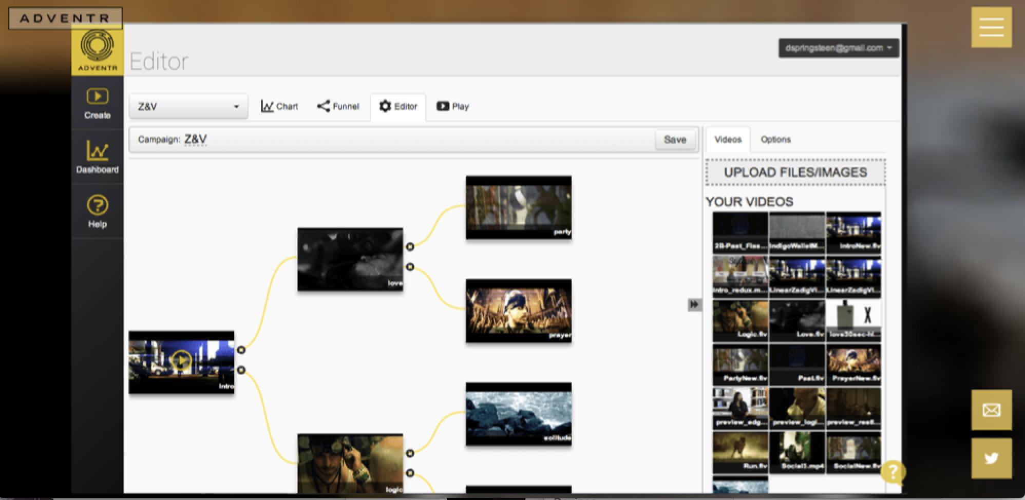 Adventr screenshot