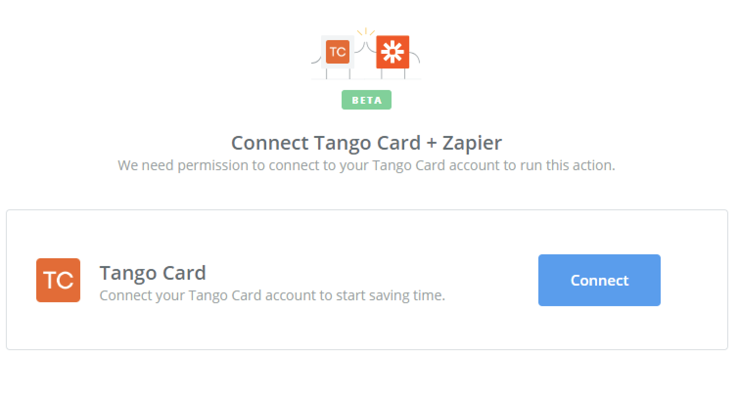 Tango Card - Integration Help & Support | Zapier