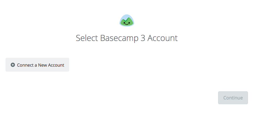 Click to connect Basecamp 3