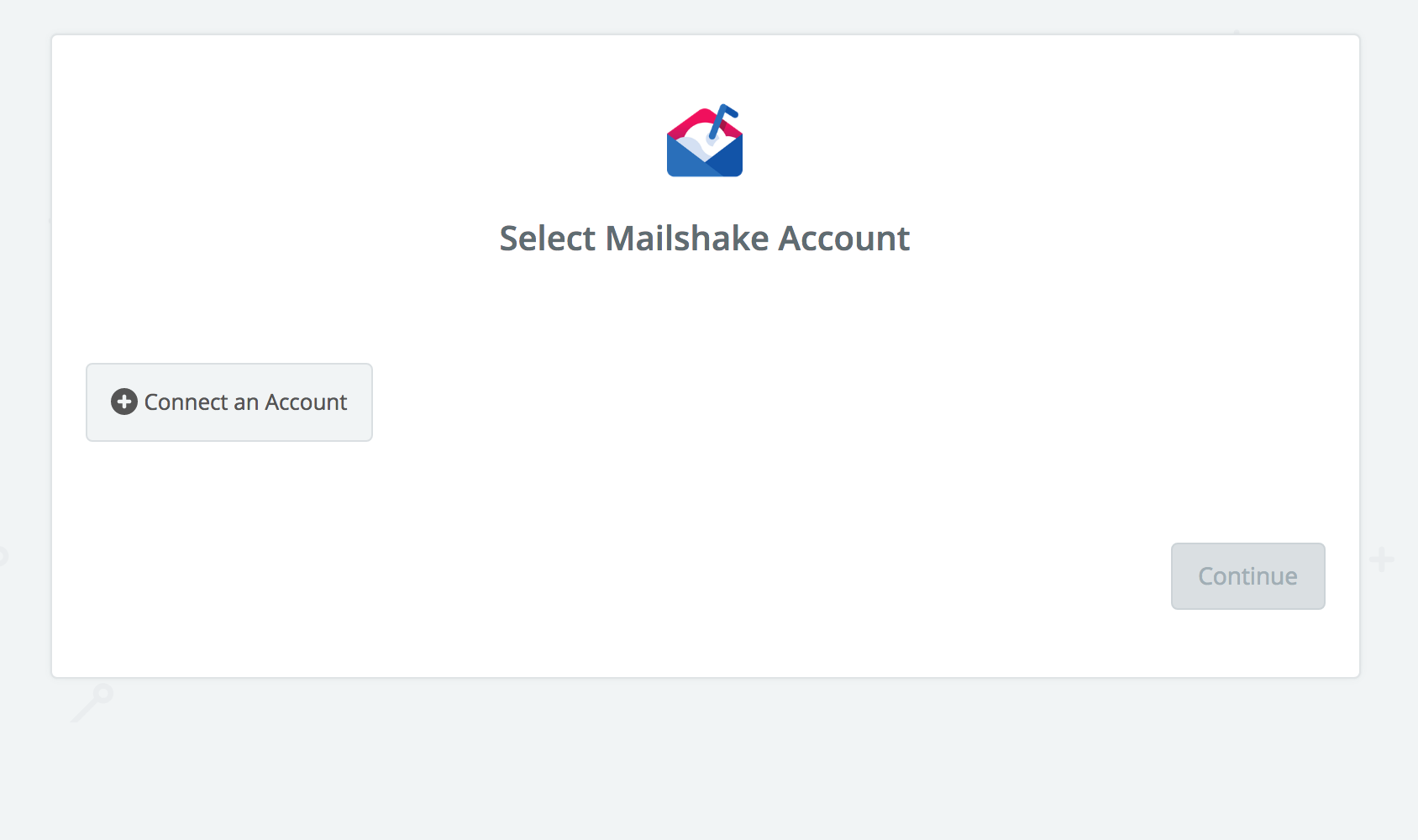 Click to connect Mailshake