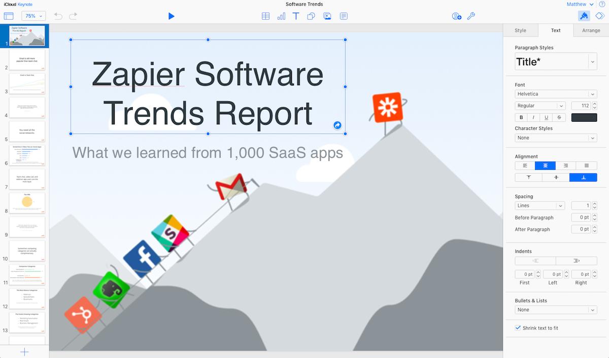 Keynote for iCloud