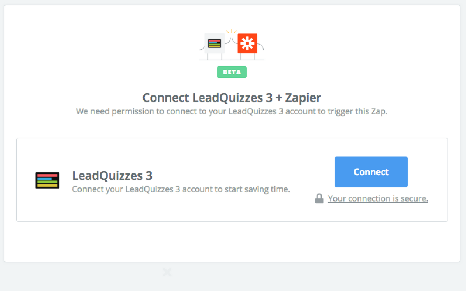 Click to connect LeadQuizzes 3