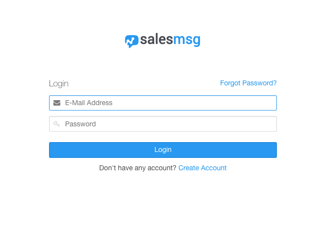 Login to Salesmsg