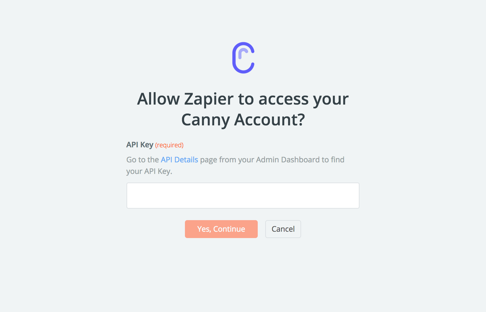 Canny API Key