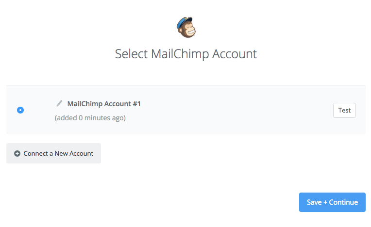 Your Mailchimp account is authorized