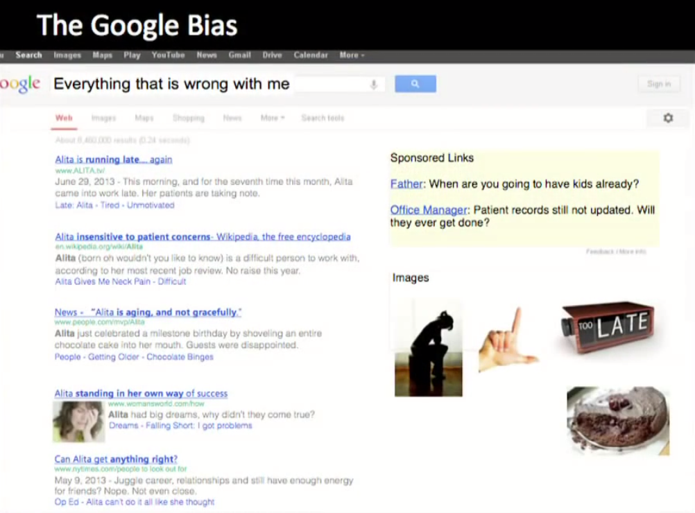 The Google Bias