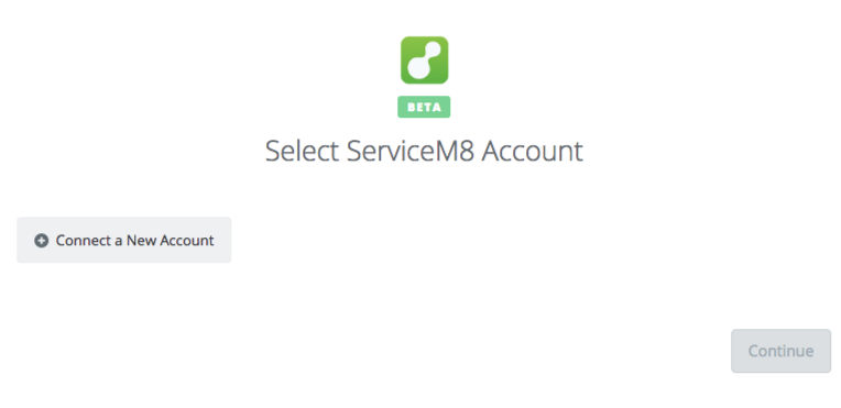 Click to connect ServiceM8